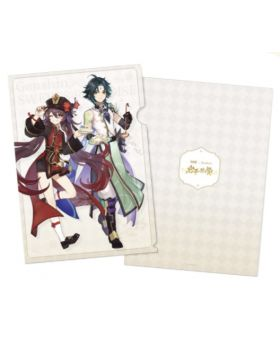 Genshin Impact Sweets Paradise Liyue Collab Goods Xiao and Hutao Clear File