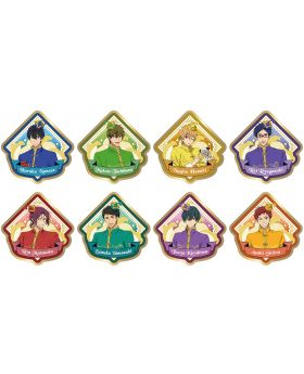 Free! The Final Stroke Movie Taito Cafe Goods Fabric Stitch Badge