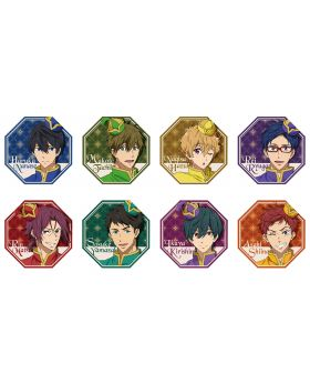 Free! The Final Stroke Movie Taito Cafe Goods Bubble Badges