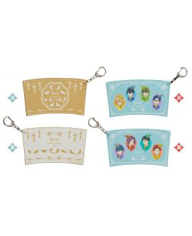 Free! The Final Stroke Movie Taito Cafe Goods Cup Sleeve Keychain