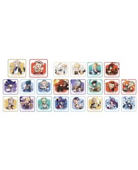 Genshin Impact Sweets Paradise Collab Goods Normal Characters Coasters BLIND PACKS