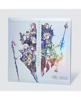 HEROES AND VILLAINS FINAL FANTASY Series Square Enix Vinyl Record First Volume