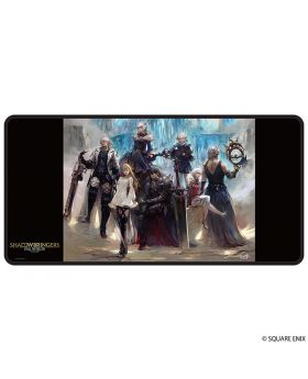 Final Fantasy XIV Square Enix Official Gaming Mousepad Warriors of Darkness SECOND RESERVATION