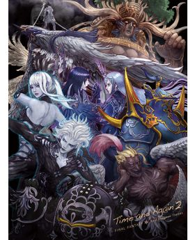 Final Fantasy XIV Square Enix Limited Edition Time and Again 2 Raid Dungeon Themes CD