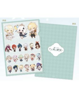 Genshin Impact Sweets Paradise Collab Goods Chibi Characters Clear File