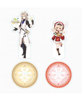 Genshin Impact Sweets Paradise Collab Goods Albedo and Klee Acrylic Stand