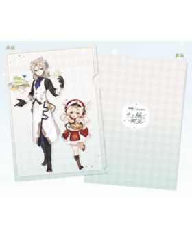 Genshin Impact Sweets Paradise Collab Goods Albedo and Klee Clear File