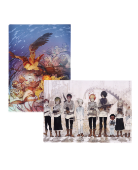 The Promised Neverland Exhibition Goods Clear File Set B
