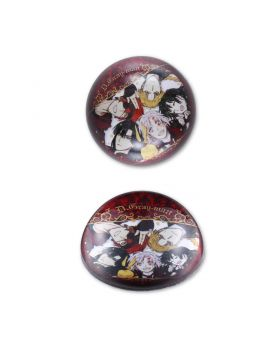 D.Gray Man Exhibition Glass Paper Weight