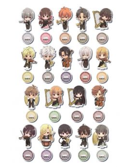 Fruits Basket Princess Cafe Formal Outfit Goods Acrylic Stand BLIND PACKS