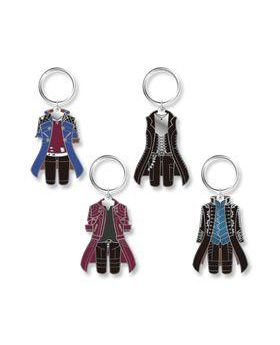 CAPCOM Cafe x Devil May Cry Retro Art Outfit Keychain