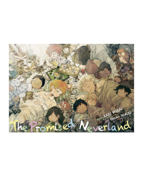 The Promised Neverland Exhibition Goods B2 Poster Memories