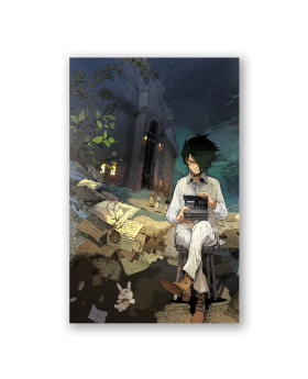 The Promised Neverland Exhibition Goods Large Postcard Ray