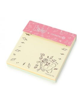 Kirby x ITS'DEMO Goods Colorfull Sticky Note PUPUPU ROCK