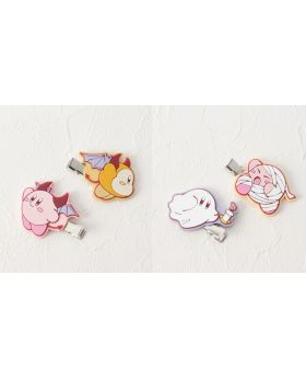 Kirby x ITS'DEMO Goods Hair Clip Set of 2 KIRBY Boo!