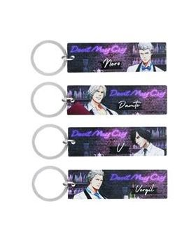 CAPCOM Cafe x Devil May Cry Metal Keychain Stick BLIND PACKS