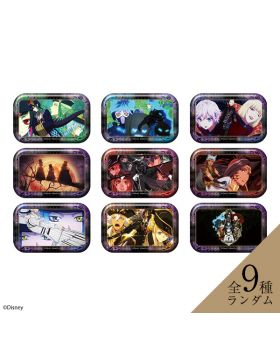 Twisted Wonderland Aniplex+ Halloween Animation Square Can Badge Scary Dress Ver. SET