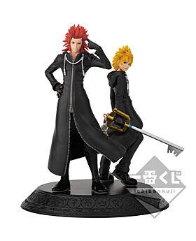 Ichiban Kuji Kingdom Hearts Second Memory Kuji Game INDIVIDUALS Axel and Roxas Figurine