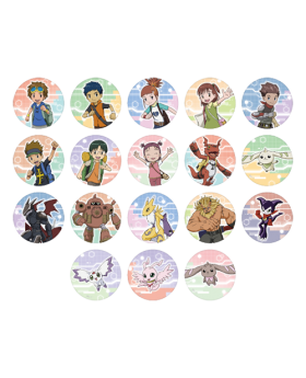 Digimon Adventure Limited Base Goods Can Badge Collection Digimon Tamers BLIND PACKS