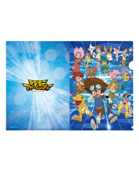 Digimon Adventure Limited Base Goods Clear File Digimon Adventure