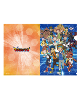 Digimon Adventure Limited Base Goods Clear File Tamers