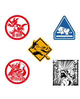 Digimon Adventure Limited Base Goods Travel Sticker Tamers