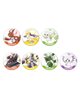 Digimon Adventure Limited Base Goods Digimon Tamers Can Badge BLIND PACKS