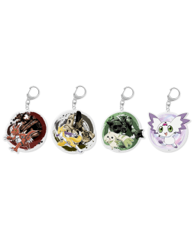 Digimon Adventure Limited Base Goods Digimon Tamers Keychain