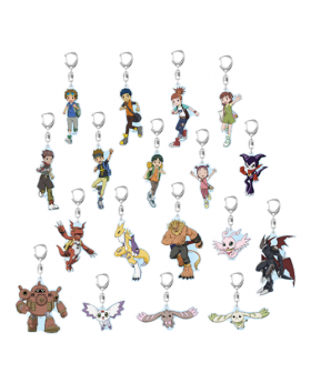 Digimon Adventure Limited Base Goods Acrylic Keychain Tamers