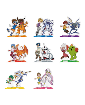 Digimon Adventure Limited Base Goods Joint Acrylic Stand