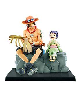 Ichiban Kuji ONE PIECE Wano Country Second Act INDIVIDUALS Ace and Otama Figurine