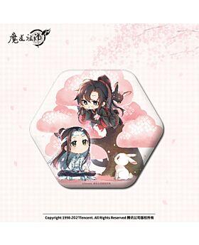 Mo Dao Zu Shi Nan Man She Official Goods Plum Blossom Can Badge