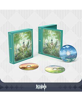 Genshin Impact miHoYo Official Soundtrack CD Set with Bonus