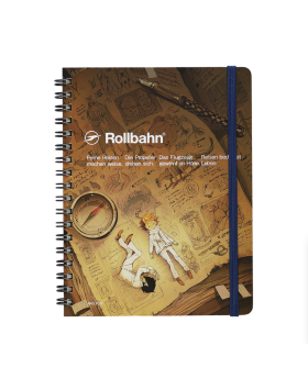 The Promised Neverland Exhibition Goods Rollbahn Note Book