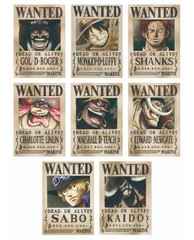 One Piece Mugiwara Store Official Wanted Posters Vol.2