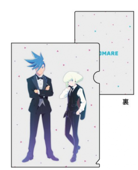PROMARE x Graffart BURNING SHOP in Tokyo Goods Galo and Lio Clear File