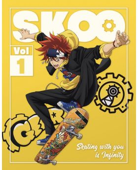SK8 the Infinity Aniplex+ Limited Edition BluRay Volume 1-3 Bundle Set