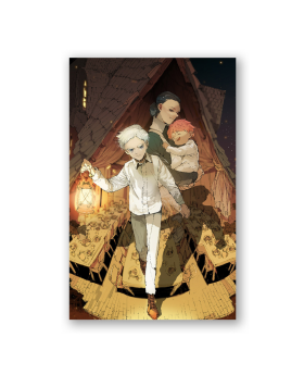The Promised Neverland Exhibition Goods Large Postcard Norman