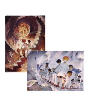 The Promised Neverland Exhibition Goods Clear File Set A