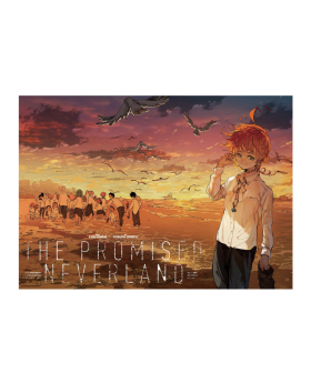 The Promised Neverland Exhibition Goods B2 Poster Sunset