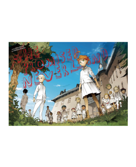 The Promised Neverland Exhibition Goods B2 Poster GF House