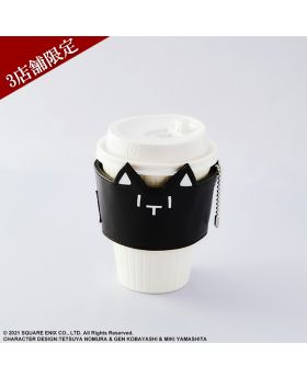 NEO The World Ends With You Square Enix Cafe Goods Mr. Mew Cup Sleeve