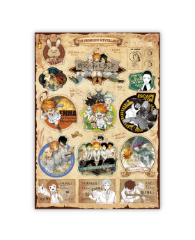 The Promised Neverland Exhibition Goods Sticker Sheet