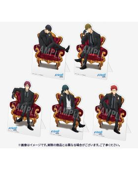 Free! The Final Stroke Part 1 Lawson Loppi Movie Ticket and Character Stand Panel
