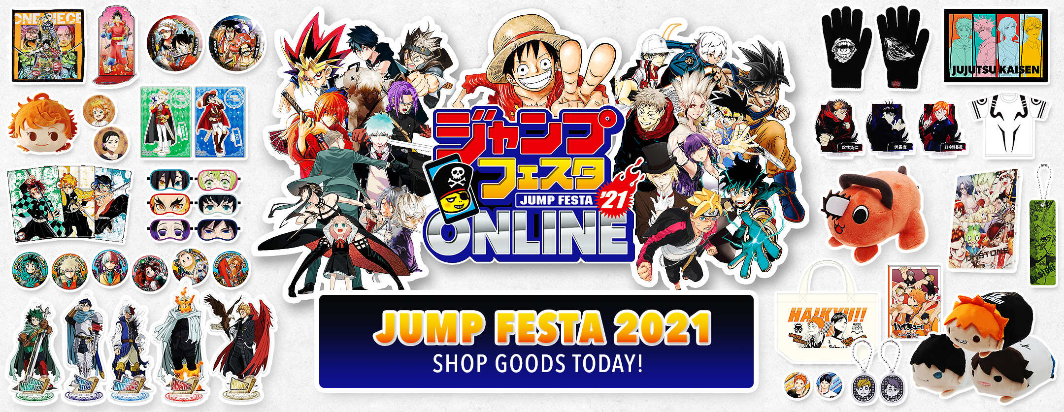 Jump Festa 2021 Online Pre-Order and Buying Process